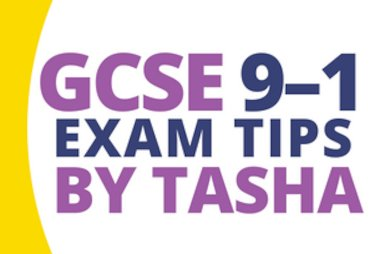 GCSE 9-1 exam tips by tasha blog tile