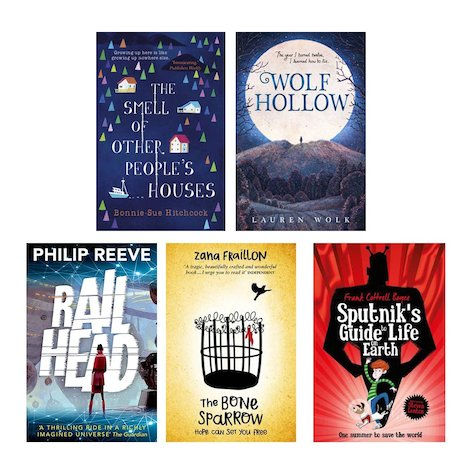 Highlights from the Carnegie Medal Shortlist 2017 Pack x 5