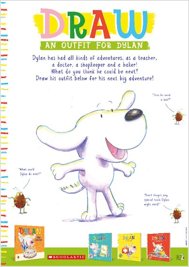 Dylan the Baker free activity sheets