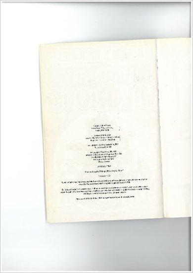 Copyright Page