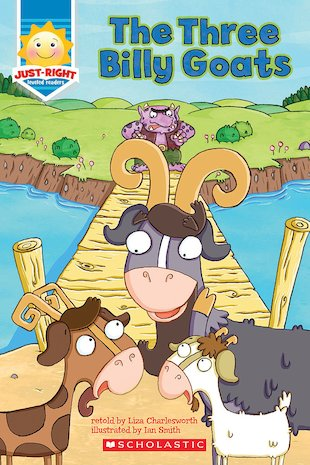 Just-Right Readers: The Three Billy Goats