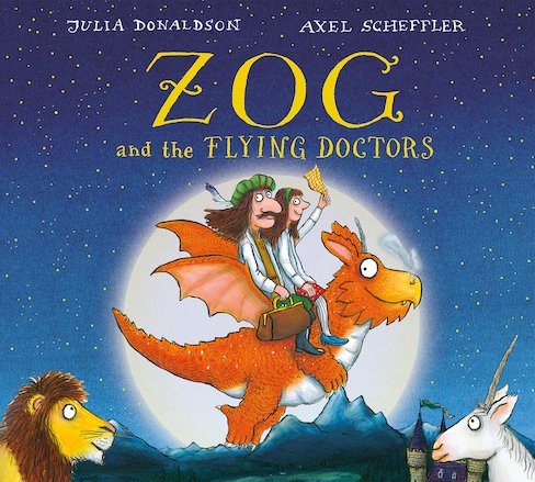 Zog and the Flying Doctors Gift edition BB