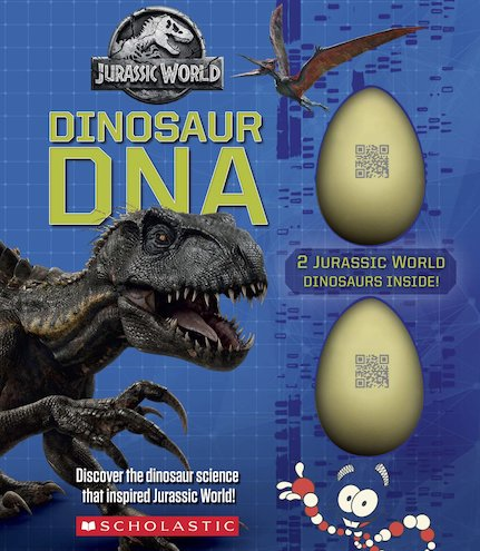 Dinosaur DNA: A Non-fiction Companion to the Films (Jurassic World)