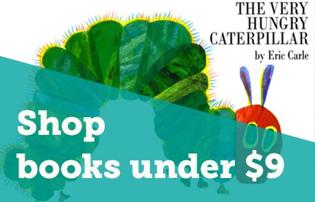 Shop books under $9