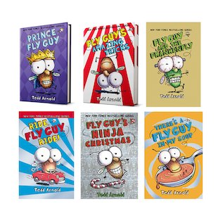 Fly Guy Pack x 6 (Books 11-16)