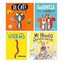 Lollies 2018 Shortlist Picture Books Pack x 4