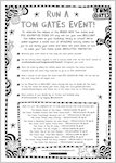 Tom Gates: Epic Adventure (Kind Of) - run a Tom Gates event (1 page)