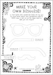 Tom Gates: Epic Adventure (Kind Of) - make your own disguise (1 page)