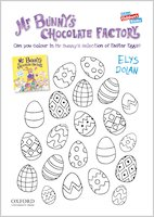 Mr Bunny's Chocolate Factory - colouring sheet