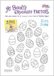 Mr Bunny's Chocolate Factory - colouring sheet (1 page)