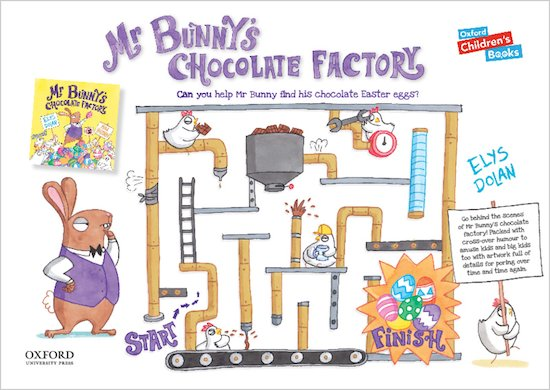 Mr Bunny's Chocolate Factory - puzzle