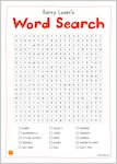 Barry Loser and the Birthday Billions - wordsearch (1 page)