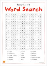 Barryloser wordsearch 1736946
