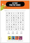 Oi Cat! - wordsearch (1 page)
