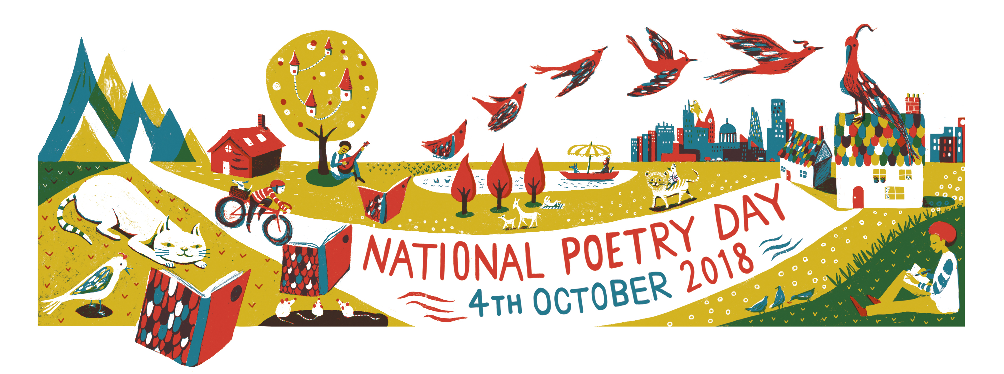 National Poetry Day web banner