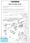 Fun on the river (1 page)