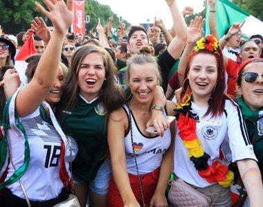 Fan-Fest in Berlin