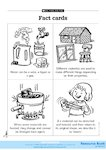 Grouping and changing materials - fact cards 1 (1 page)