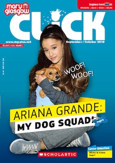 Click magazine cover