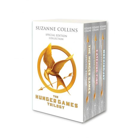 Hunger Games Trilogy (white anniversary boxed set)