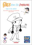 Girls Can Do Anything Colouring Activity (1 page)