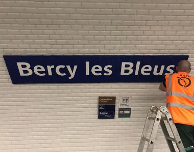 « Bercy les Bleus »