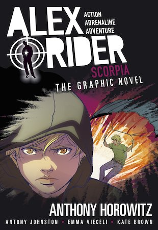Alex Rider: Scorpia Graphic Novel