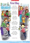'First day' poem  - starting a new school year (1 page)