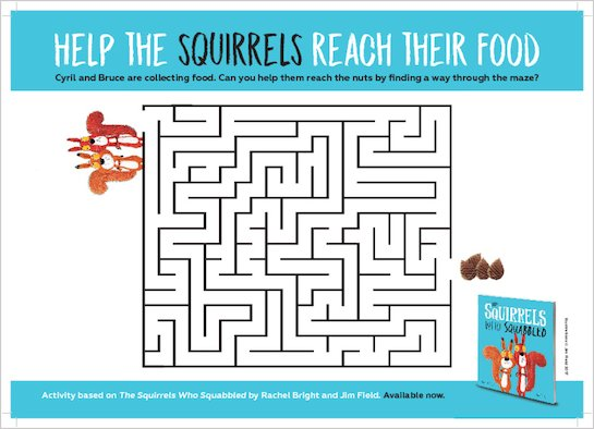 The Squirrels Who Squabbled - puzzle
