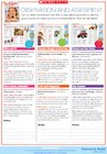 Observation and assessment bookmarks for the 'Fun on the farm' theme