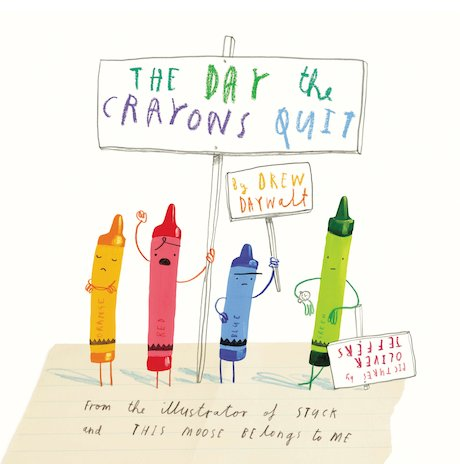 The Day the Crayons Quit x 6