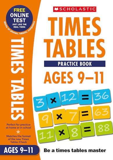 Practice Book for Ages 9-11 x 6