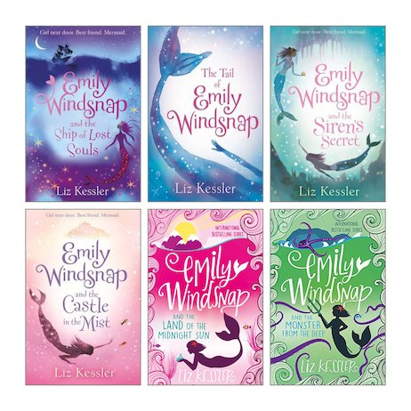 Emily Windsnap Pack x 6
