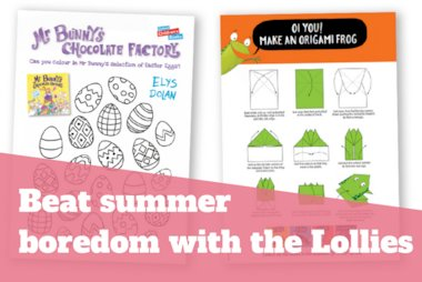 Beat summer boredom with the Lollies
