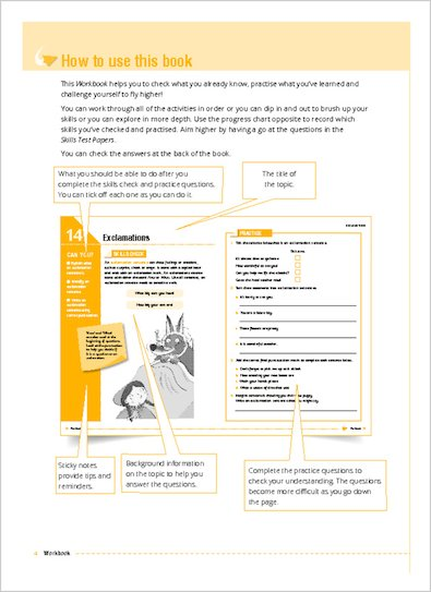 National Curriculum SATs Challenge Key Stage 2 GPS Workbook page 4