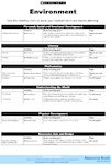 Environment - medium-term plan (1 page)