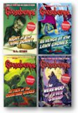 Goosebumps pack of four