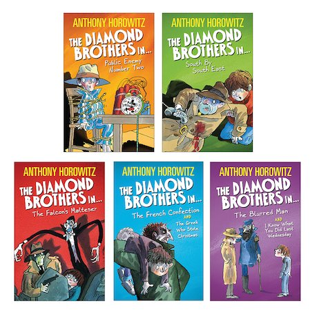 The Diamond Brothers Pack x 5