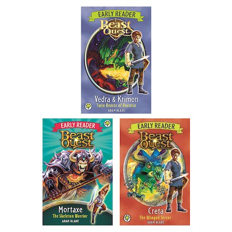 Beast Quest Early Readers Pack x 3