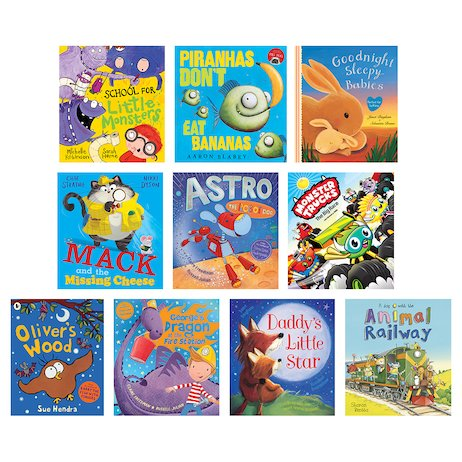 Picture Book Pack x10 Sept 18