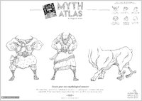Myth Atlas drawing activity