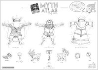 Myth Atlas dress up Thor activity