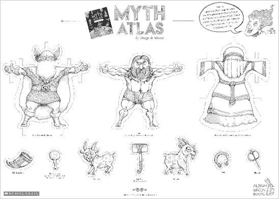 Myth Atlas dress up Thor activity