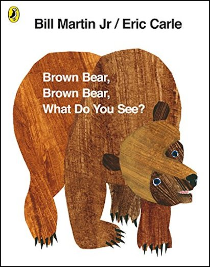 Brown Bear, What do You See