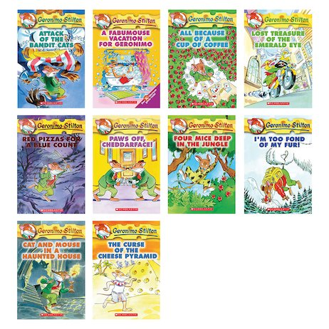 Geronimo Stilton Pack x 10