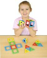 Magnetic Polydron Set (32 pieces)
