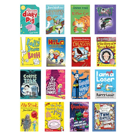 Reluctant Readers Year 5 Pack x 16
