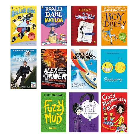 Reluctant Readers Year 6 Pack x 11