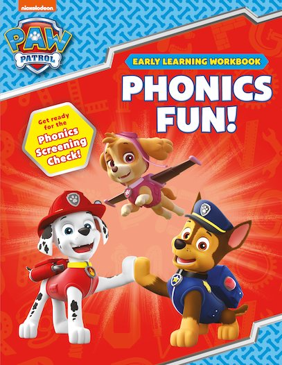 Paw Patrol Phonics Box Set Uk