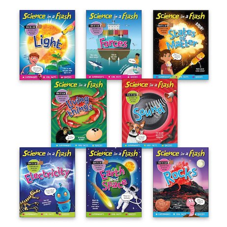 Science in a Flash Pack x 8